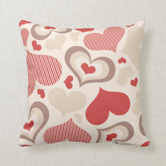 Heart Shapes American Mojo Pillow