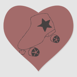 heart shapes Skate Stickers! Heart Sticker