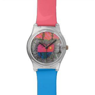 Heart Shapes Wristwatch