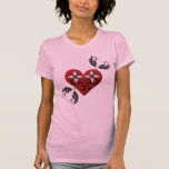 Heart Shirt with Om Sign
