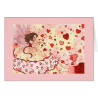 Heart Shower Card