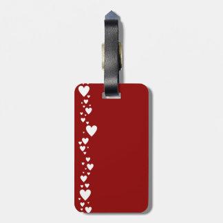 Heart Side II Luggage Tags