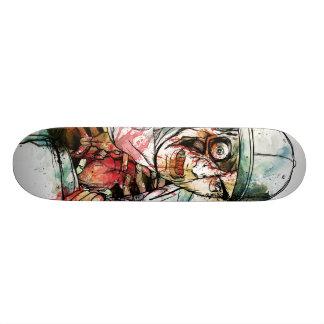 heart skate board deck