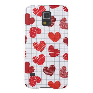 Heart Sketch Galaxy S5 Case
