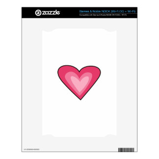 Heart Decal For The NOOK