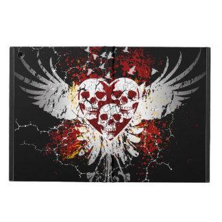 Heart Skulls iPad Air Covers