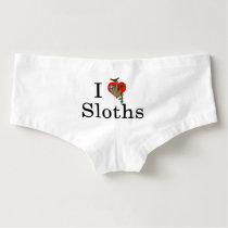 Heart Sloth Underwear Hot Shorts