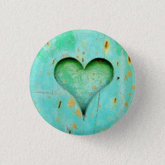 Heart Small, 1¼ Inch Round Button