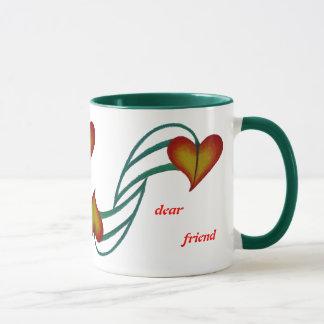 Heart smiles mug