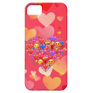 Heart smiley iPhone SE/5/5s case