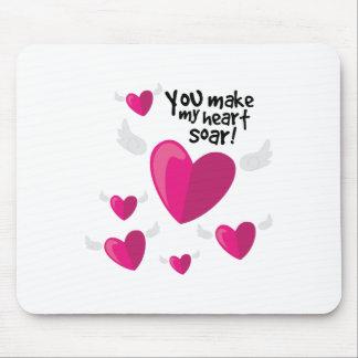 Heart Soar Mouse Pad