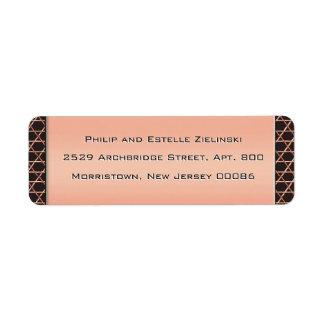Heart & Soul Copper (Return Address Labels)