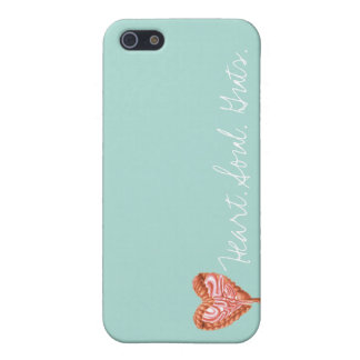 Heart Soul Guts iPhone 5 Cases