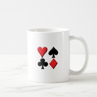 Heart, Spade, Club and Diamond Coffee Mug
