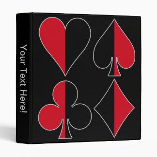 Heart Spade Diamond Club Binder