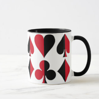 Heart Spade Diamond Club Mug