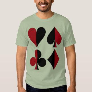 Heart Spade Diamond Club T-Shirt