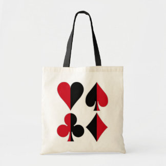 Heart Spade Diamond Club Tote Bag