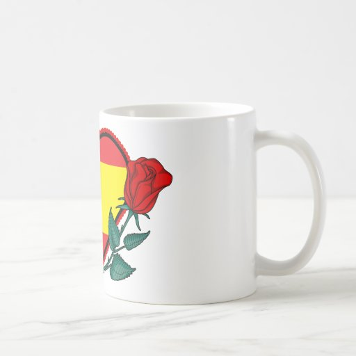 Heart Spain Mug