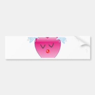 Heart Splash Bumper Sticker