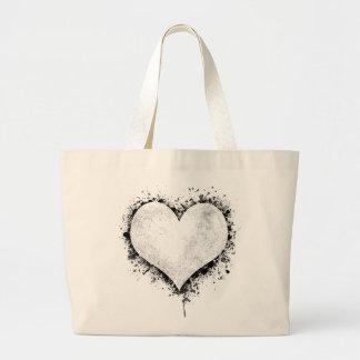 Heart Splatter Bag