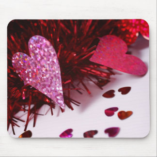 Heart Sprinkles Mouse Pad