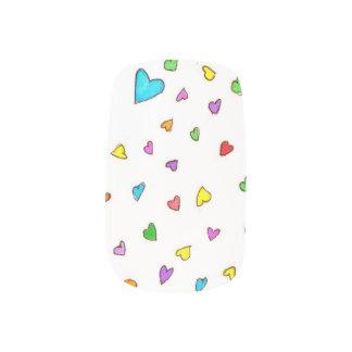 Heart Sprinkles- Nail Art Minx® Nail Art