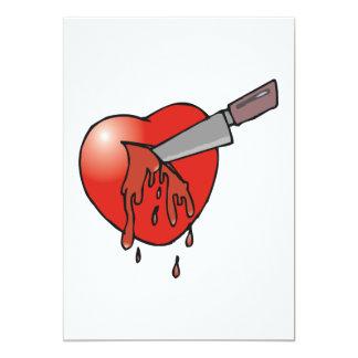 Heart Stabbing Card