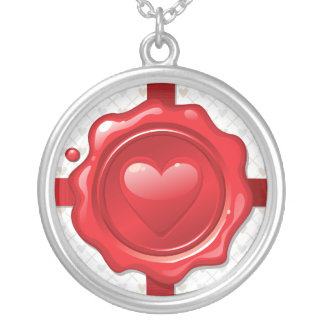 Heart Stamp 1 Necklace