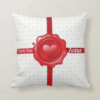 Heart Stamp 1 Pillow