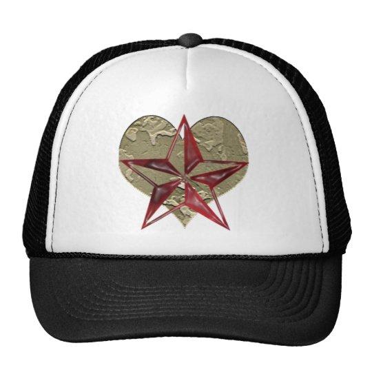 Heart Star Trucker Hat