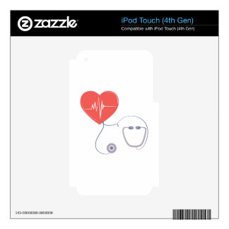 Heart Stethoscope iPod Touch 4G Skin
