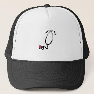 Heart Stethoscope Trucker Hat