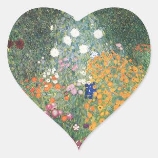 Heart Sticker - The Flower Garden