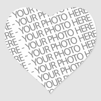 Heart Sticker, Your Photo Here