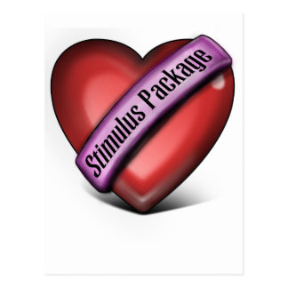 Heart Stimulus Package Postcard