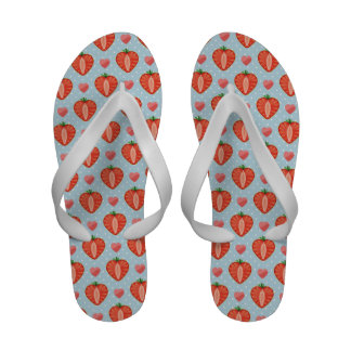 Heart Strawberries with Polka Dots And Hearts Sandals