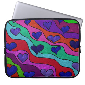 Heart Strings Electronics Bag For 15 Inch Laptop Laptop Computer Sleeves