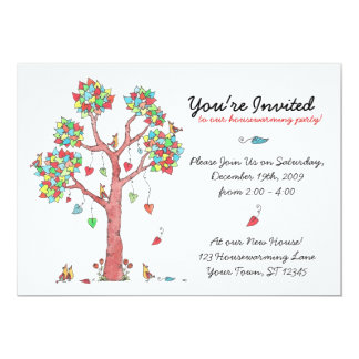 Heart Strings Housewarming Invitation