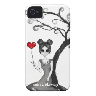Heart Strings iPhone 4 Case