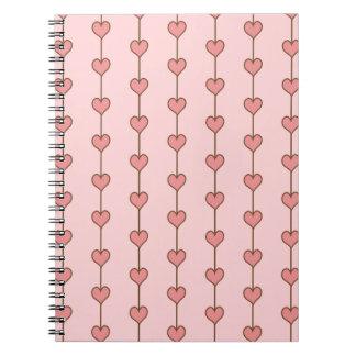 Heart Strings Notebook