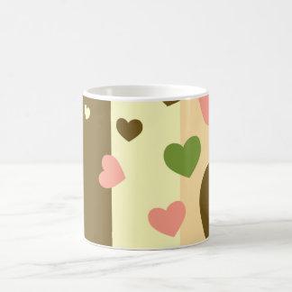 Heart Stripe Mug