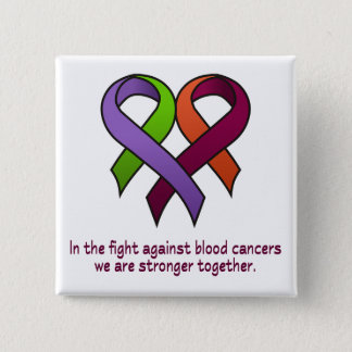 Heart - Stronger Together Pinback Button