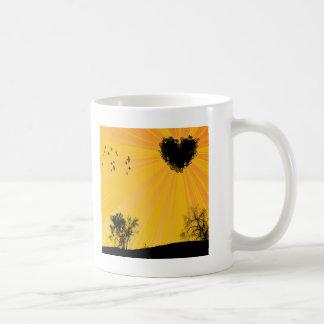 Heart Sun Coffee Mug