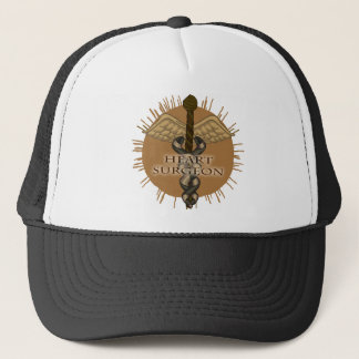 Heart Surgeon Caduceus Trucker Hat