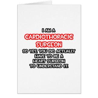 Heart Surgeon Cardiothoracic Surgeon Card
