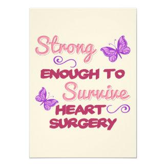 Heart Surgery Strong Card