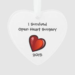 Heart Surgery Survivor 2015 ornament
