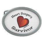 Heart Surgery Survivor Belt Buckle