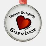 Heart Surgery Survivor Christmas Tree Ornament